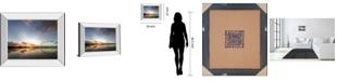 "Classy Art Horizon by Andrew Geiger Mirror Framed Print Wall Art, 22"" x 26"""