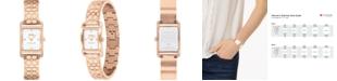 COACH Women's Allie Rose Gold-Tone Bracelet Watch 19x22mm