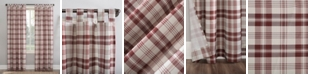 "No. 918 Blair Farmhouse Plaid 52"" x 63"" Semi-Sheer Curtain Panel"