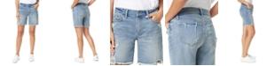 Joe's Jeans Destructed Denim Bermuda Shorts
