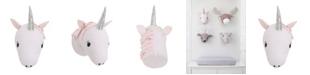 NoJo Unicorn Plush Head Wall Decor