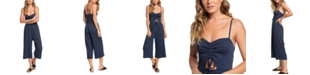 Roxy Juniors' Where You Move Cropped Jumpsuit