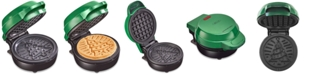 Bella Mini Waffle Maker, Christmas Tree Green