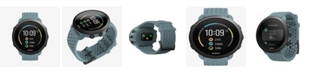 Suunto 3 Men's Moss Gray Silicon Strap Compact Sports Watch, 43mm