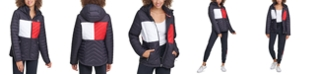 Tommy Hilfiger Colorblocked Puffer Jacket