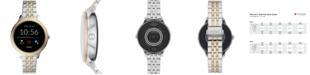 Fossil Women's Gen 5E Two-Tone Stainless Steel Touchscreen Smart Watch 42mm