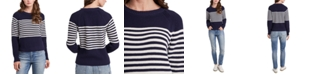 Riley & Rae Cotton Micah Blocked-Stripe Sweater, Created for Macy's