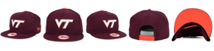 New Era Virginia Tech Hokies Core 9FIFTY Snapback Cap