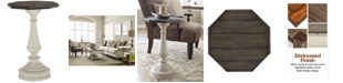 Furniture Barclay Octagon End Table