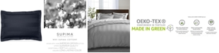 "Charter Club 3"" Stripe Twin Duvet Cover, 100% Supima Cotton 550 Thread Count, Created for Macy's"