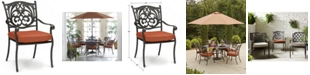 Furniture Chateau Cast Aluminum Outdoor Dining Chair, Created for Macy's