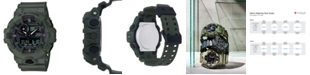 G-Shock Men's Analog-Digital Green Resin Strap Watch 53mm