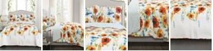 Lush Decor Percy Bloom 3-Pc Set Full/Queen Quilt Set