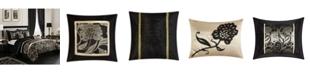Nanshing Mollybee 7-Piece Comforter Set, Black, King
