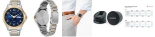 Citizen Men's Quartz Two-Tone Stainless Steel Bracelet Watch 41mm