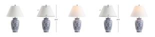 JONATHAN Y Juliana Chinoiserie Ceramic LED Table Lamp