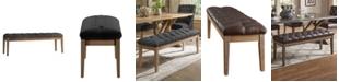 iNSPIRE Q Alvia Premium Tufted 52-Inch Upholstered Bench