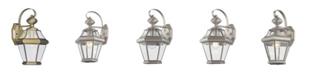 Livex CLOSEOUT!   Georgetown 1-Light Outdoor Wall Lantern