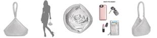 INC International Concepts INC Doris Sparkle Mesh Pouch, Created for Macy's