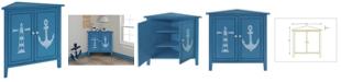 Gallerie Decor Oceana Corner Cabinet