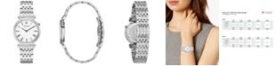Bulova Women's Regatta Stainless Steel Bracelet Watch 30mm