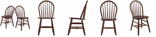 Winsome Windsor Chair 2-Piece Set