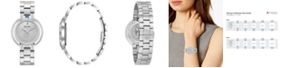 Bulova Women's Rubaiyat Diamond (2 1/4 ct. t.w.)  Stainless Steel Bracelet Watch 35mm