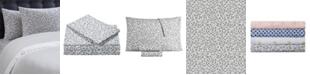 Juicy Couture Silver Leopard 3-Piece Twin Microfiber Sheet Set