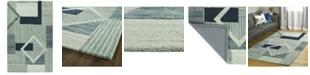 Kaleen Alzada ALZ04-17 Blue 3' x 5' Area Rug