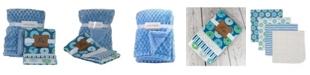 Amor Bebe 3 Stories Trading Diamond Plush and Donuts Baby Blanket Gift Set