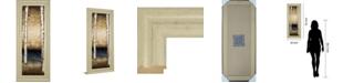 """Classy Art Birch Landing II by St Germain Framed Print Wall Art - 18"""" x 42"""""""