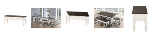 Furniture Judd Two Tone Storage Bench