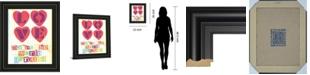 "Classy Art Must Be Love I by Tom Frazier Framed Print Wall Art, 22"" x 26"""