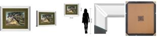"Classy Art Breaking Through by A. Frank Mirror Framed Print Wall Art, 34"" x 40"""