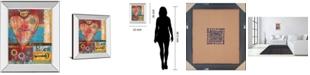 "Classy Art Love by Mollie B Mirror Framed Print Wall Art, 22"" x 26"""