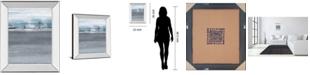 "Classy Art Snowy Tracks by Sims Mirror Framed Print Wall Art, 22"" x 26"""