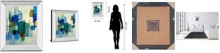 """Classy Art Bayside II by Lannie Loreth Mirror Framed Print Wall Art, 22"""" x 26"""""""