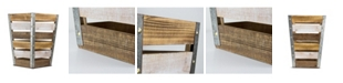 Crystal Art Gallery American Art Decor Wood Storage Crate