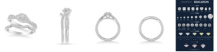 Macy's Diamond Twist Bridal Set (3/4 ct. t.w.) in 14k White, Yellow or Rose Gold