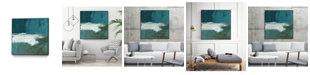 "Giant Art 20"" x 20"" Seabound II Art Block Framed Canvas"