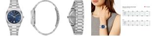 Bulova Women's Classic Stainless Steel Bracelet Watch 34mm, Created for Macy's