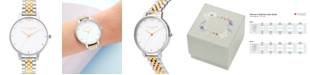 Olivia Burton Women's Queen Bee Two-Tone Stainless Steel Bracelet Watch 38mm