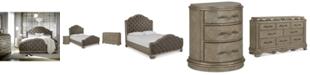 Furniture Zarina Bedroom Furniture, 3-Pc. Set (Queen Bed, Dresser & Nightstand)