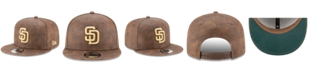 New Era San Diego Padres Butter So Soft Faux-Leather 9FIFTY Snapback Cap