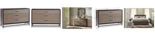 Furniture Avery Brown 3 Drawer Dresser