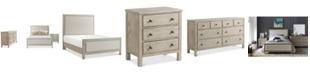 Furniture Parker Upholstered Bedroom Furniture, 3-Pc. Set (Full Bed, Dresser & Nightstand), Created for Macy's