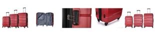 DUKAP Rodez 3-Pc. Hardside Luggage Set