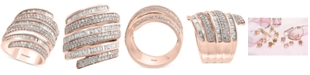 EFFY Collection EFFY® Diamond Wrap Statement Ring (2-1/5 ct. t.w.) in 14k Rose Gold