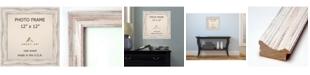 "Amanti Art Alexandria Whitewash 12"" X 12"" Opening Wall Picture Photo Frame"