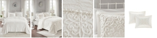 Madison Park Sabrina 3-Pc. Full/Queen Tufted Cotton Chenille Bedspread Set